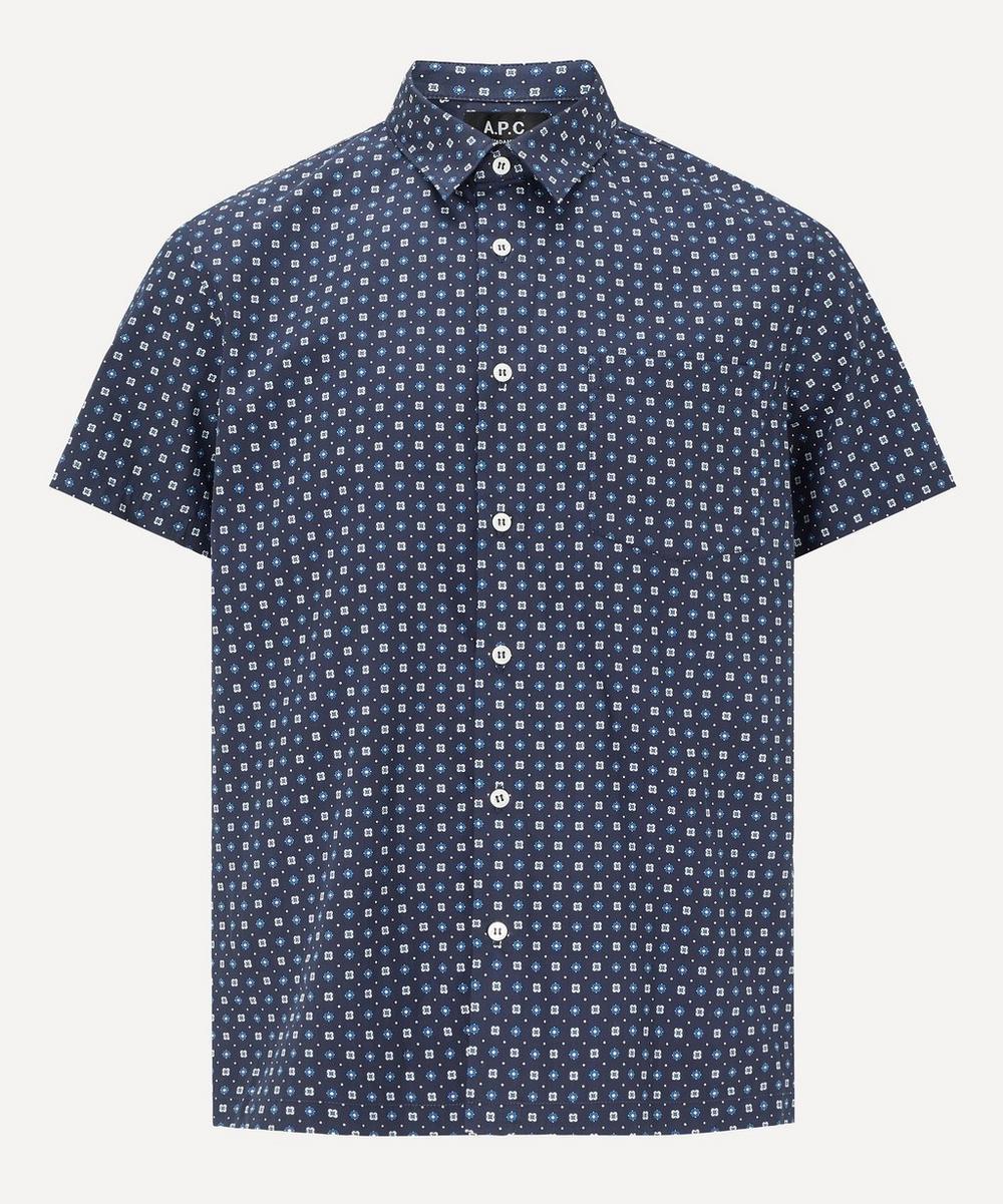 A.P.C. - Cippi Cotton-Silk Short-Sleeve Shirt