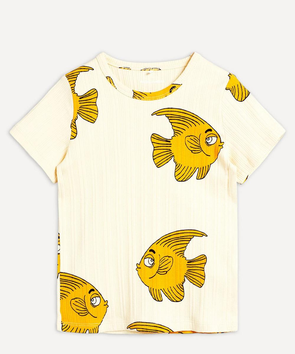 Mini Rodini - Fish Short-Sleeved T-Shirt 2-8 Years