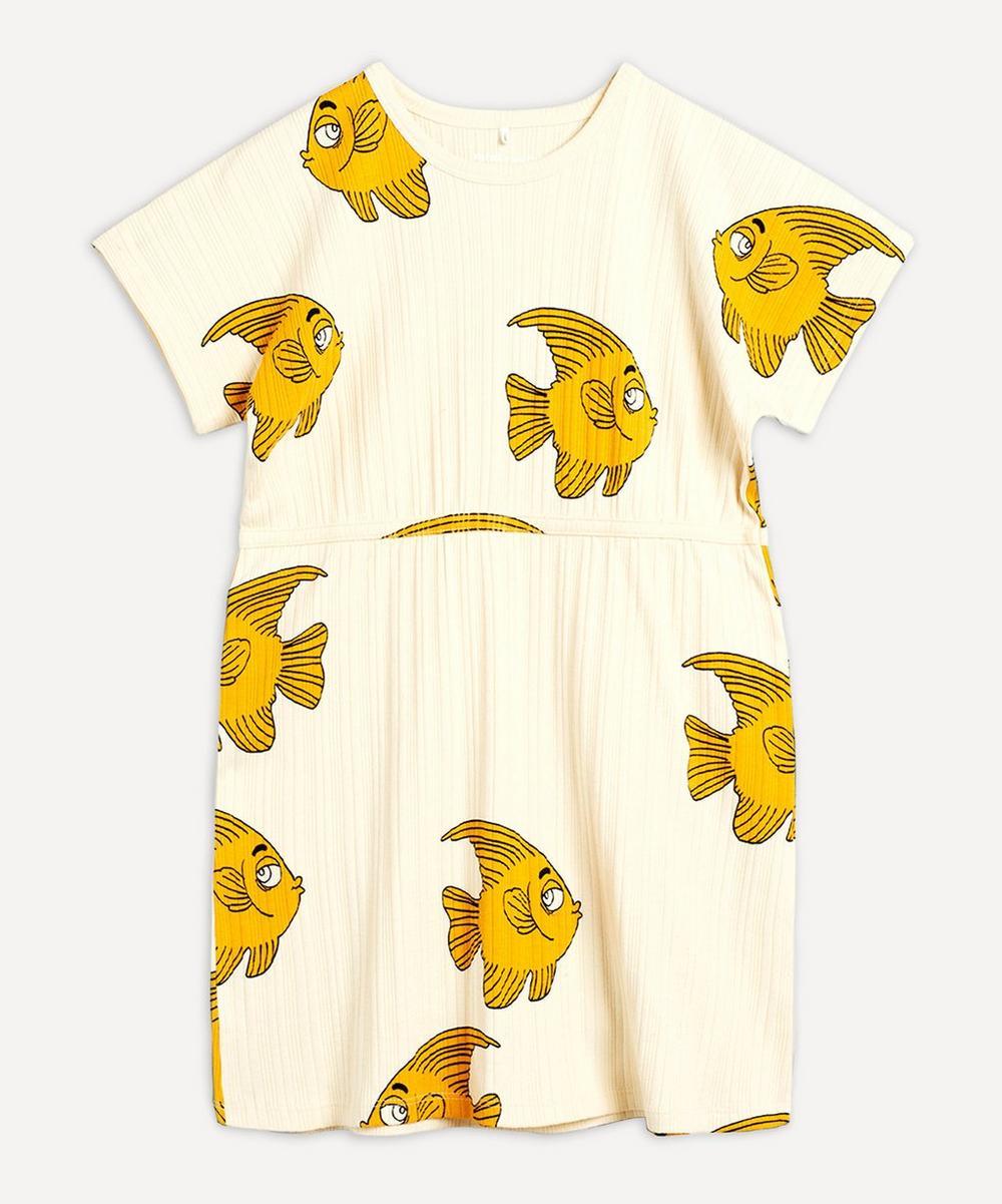 Mini Rodini - Fish Short-Sleeved Dress 2-8 Years