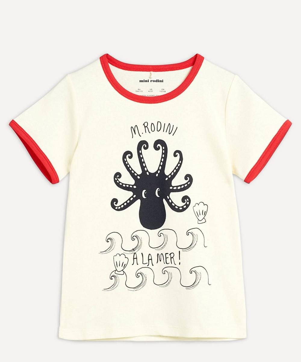 Mini Rodini - Octopus Short-Sleeved T-Shirt 2-8 Years