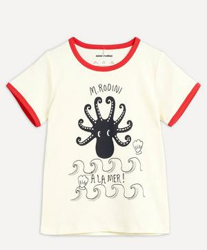 Octopus Short-Sleeved T-Shirt 2-8 Years