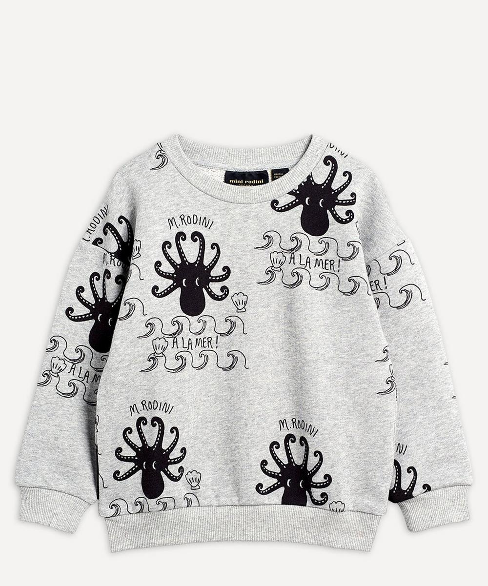Mini Rodini - Octopus Long-Sleeved Sweatshirt 2-8 Years