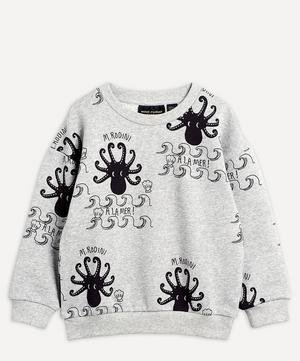 Octopus Long-Sleeved Sweatshirt 2-8 Years