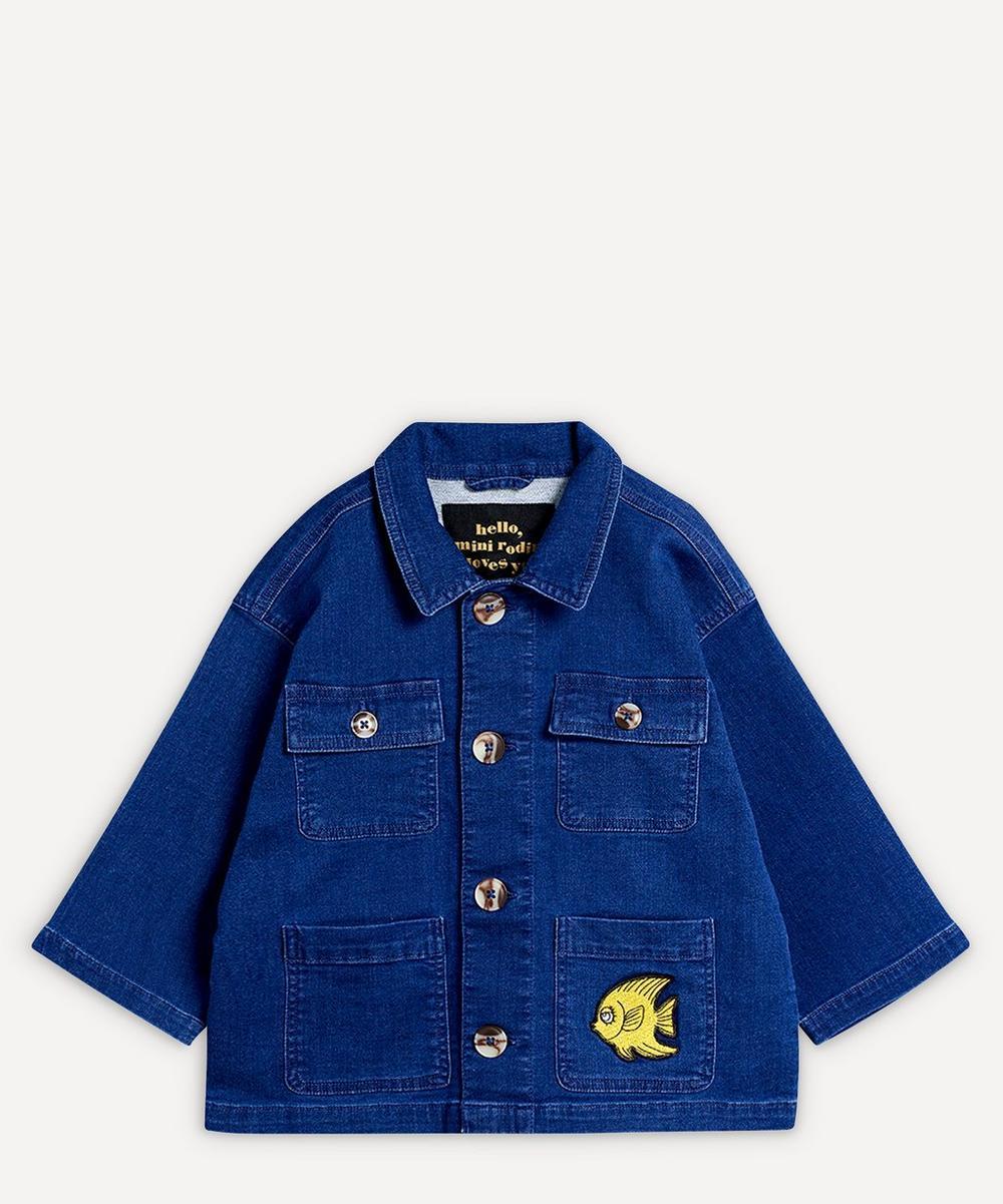 Mini Rodini - Denim Safari Jacket 2-8 Years