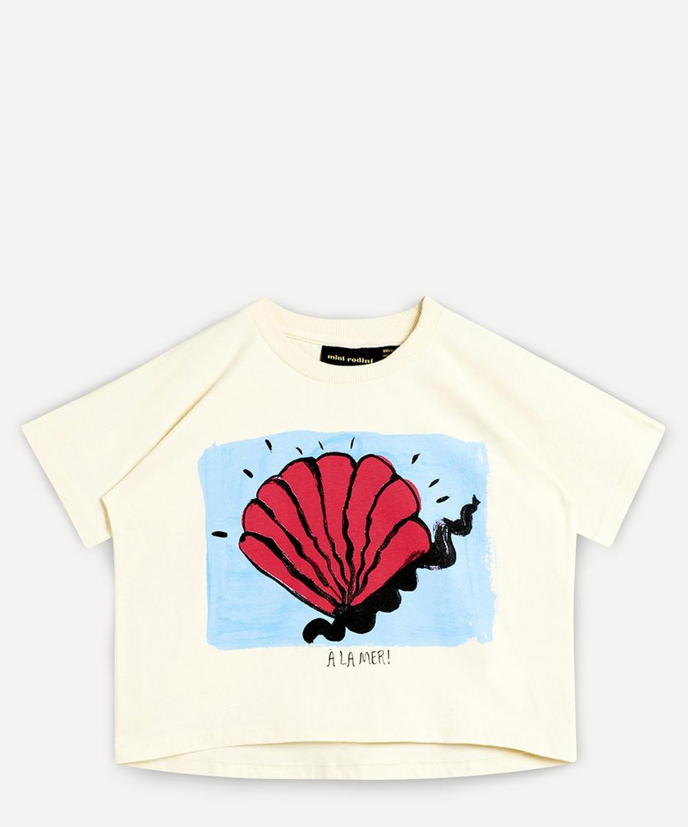 Mini Rodini - Shell Short-Sleeved T-Shirt 2-8 Years