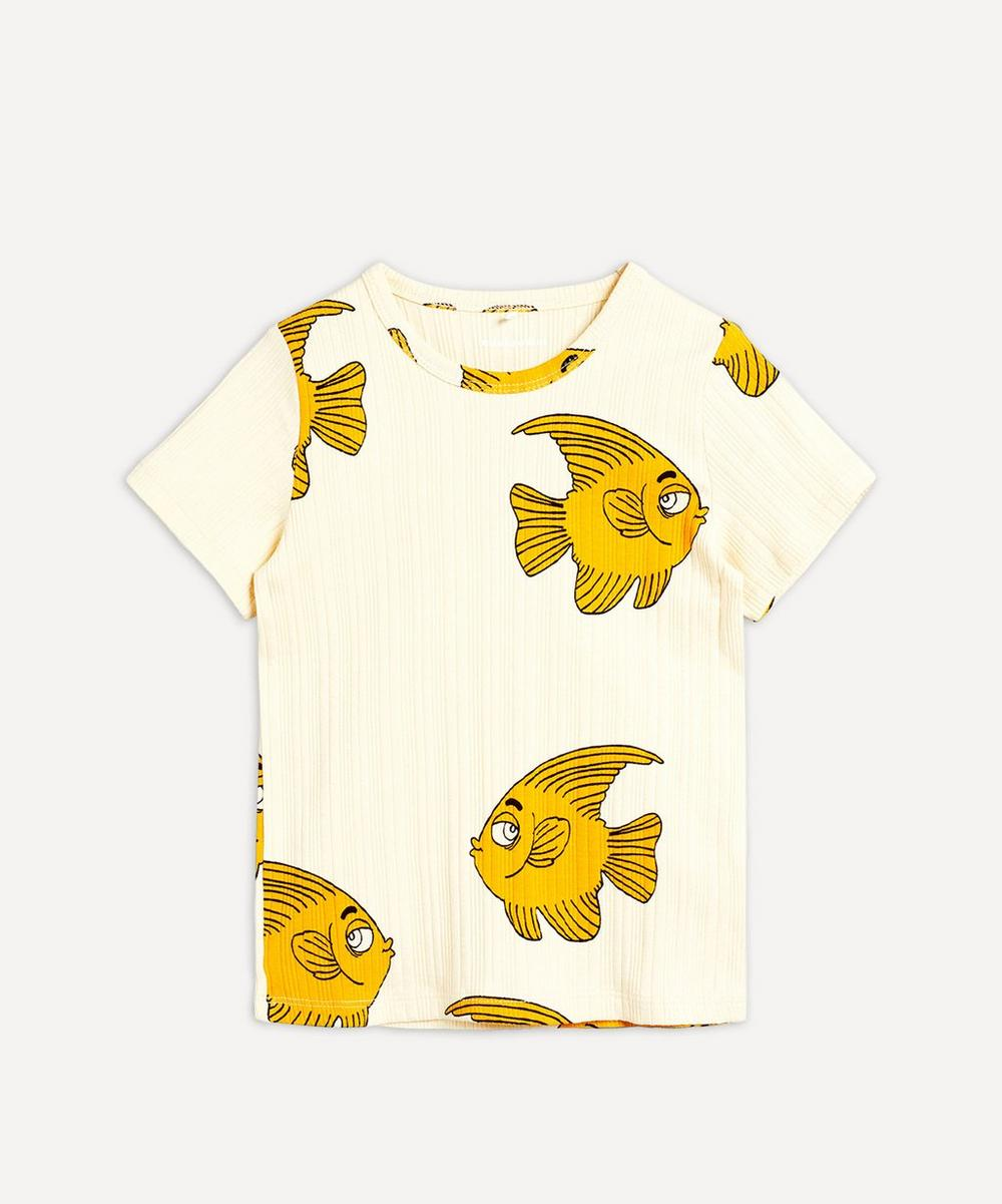 Mini Rodini - Fish Short-Sleeved T-Shirt 3-18 Months
