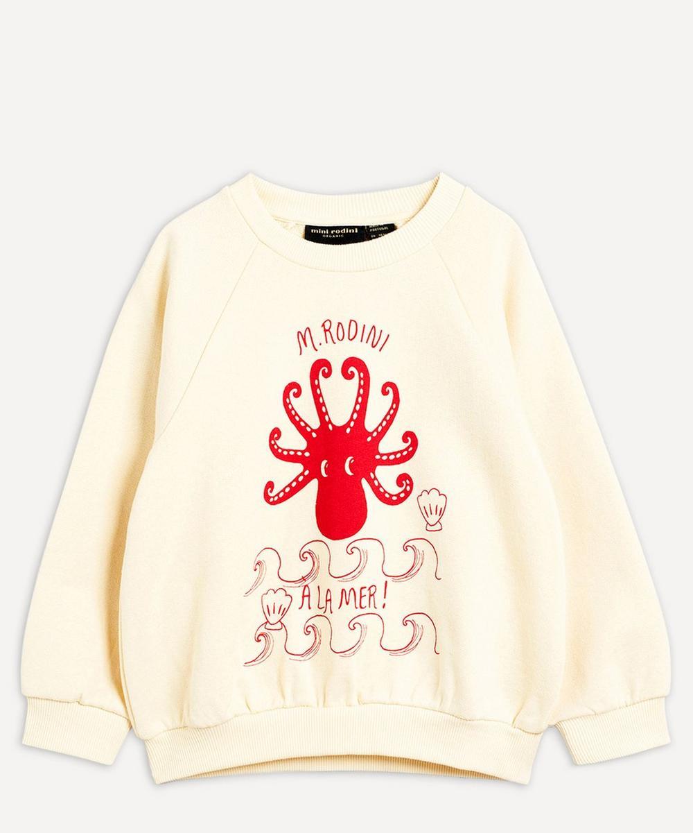 Mini Rodini - Octopus Sweatshirt 3-18 Months