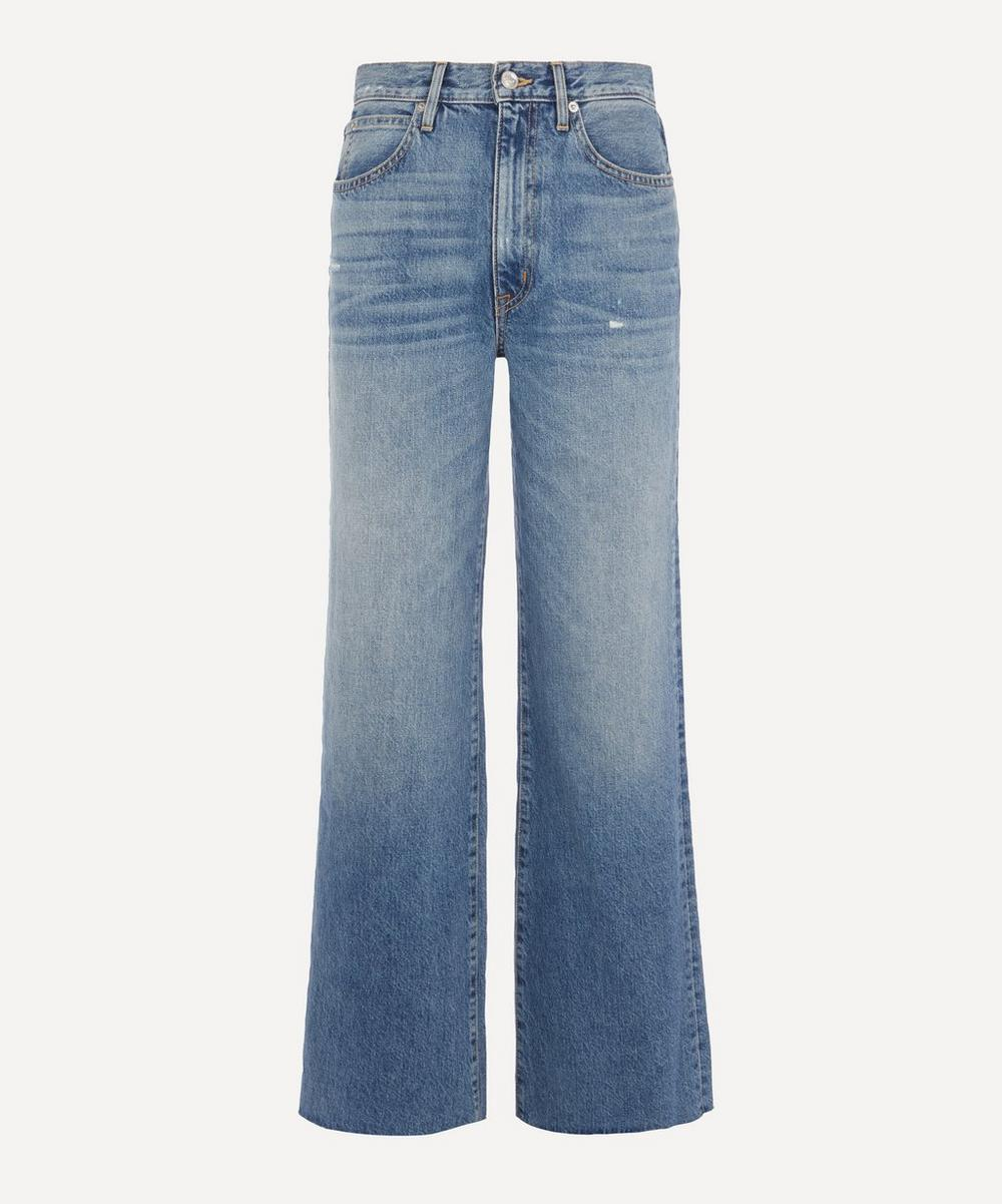SLVRLAKE - Grace High-Rise Wide Leg Jeans