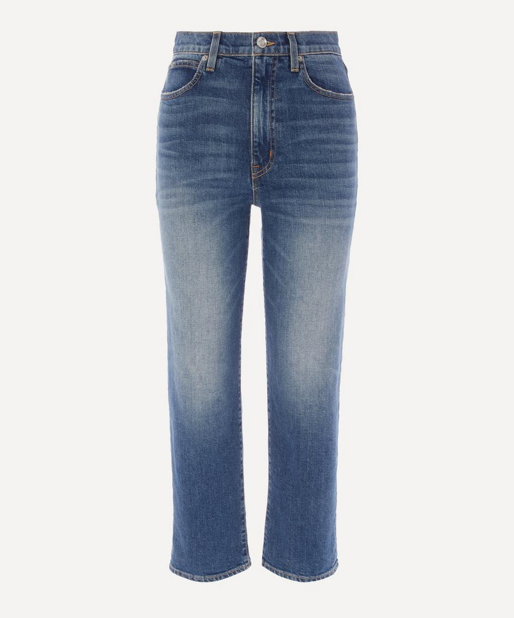 SLVRLAKE - London Crop Straight Leg Jeans