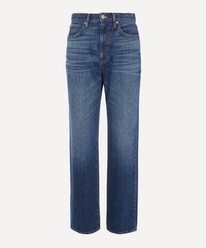 London High-Rise Straight-Leg Jeans
