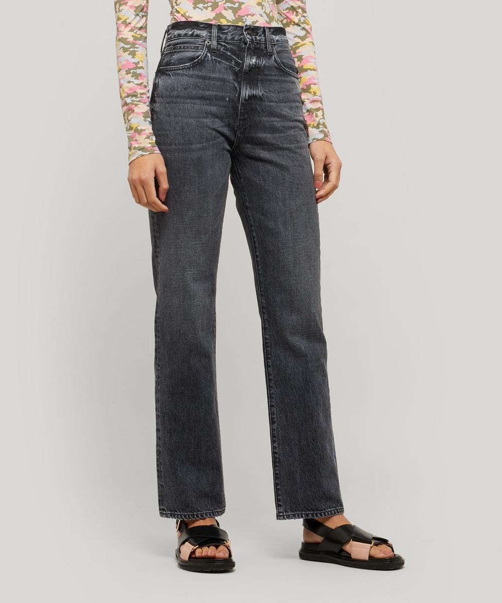 SLVRLAKE - London High-Rise Straight-Leg Jeans