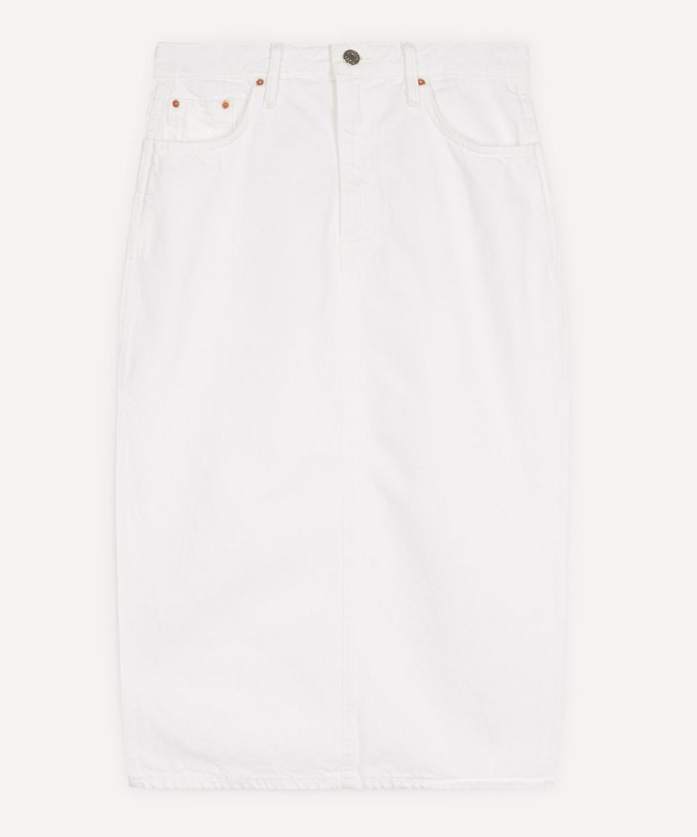 GRLFRND - Nora Side-Split Midi-Skirt