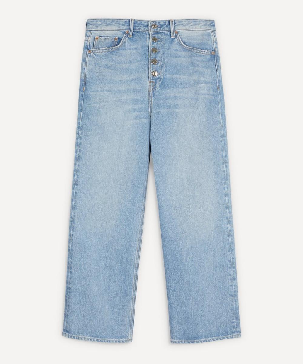 GRLFRND - Bobbi Super High-Rise Crop Jeans