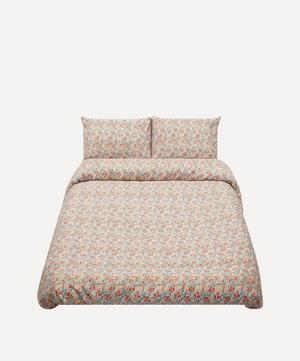 Poppy and Daisy Cotton Sateen King Duvet Cover Set