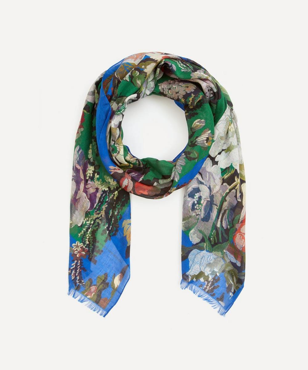Dries Van Noten - Floral Silk Scarf