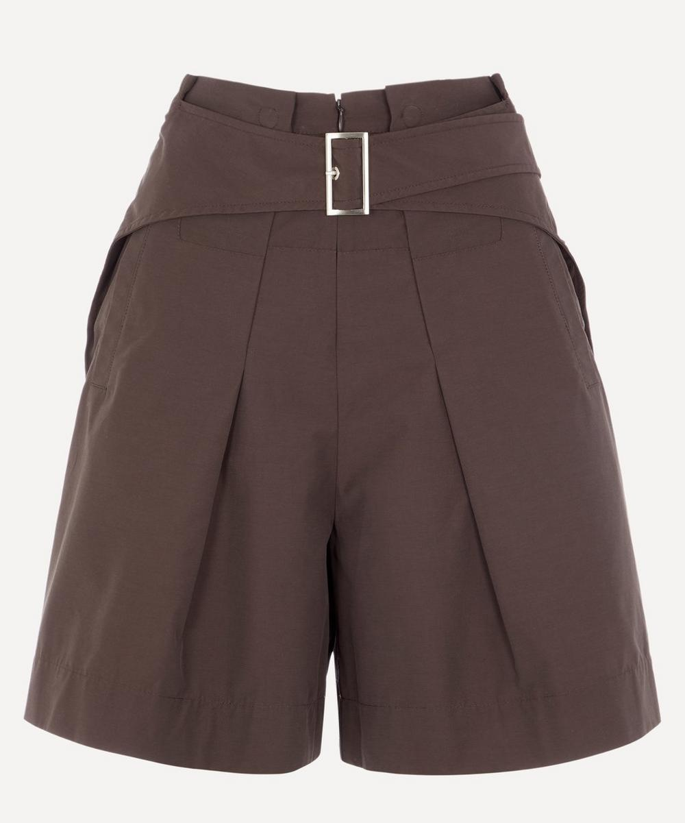 3.1 Phillip Lim - Belted Cotton-Blend Utility Shorts