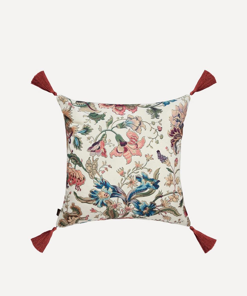 House of Hackney - Majorelle Cotton Linen Tassel Cushion