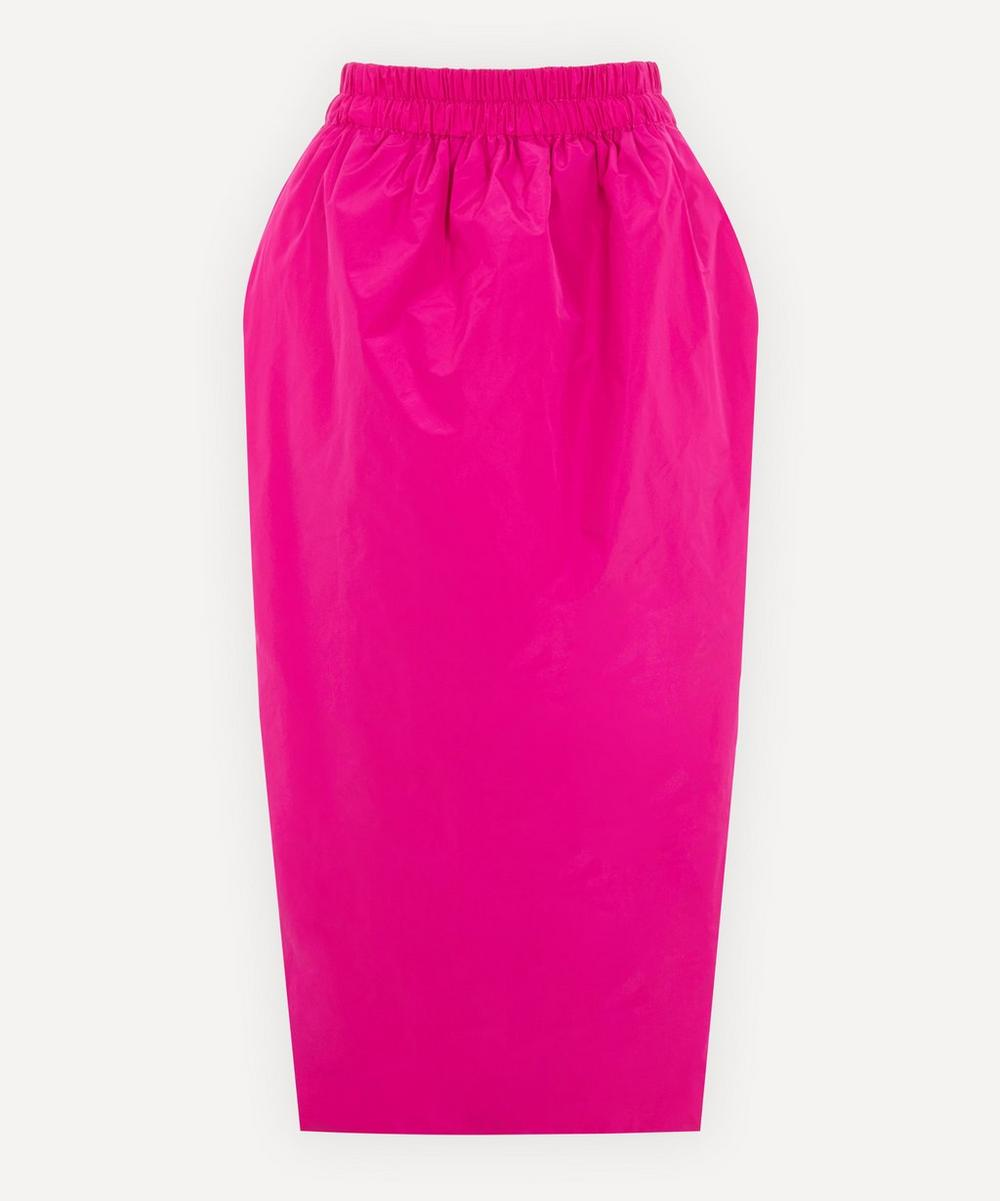 Dries Van Noten - Technical Fabric Midi-Skirt