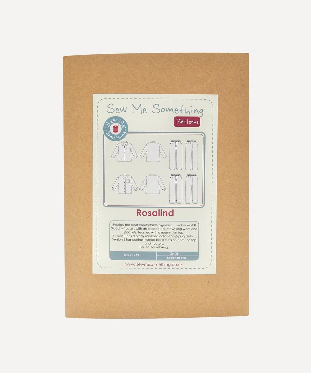 Sew Me Something - Rosalind Pyjamas Paper Pattern