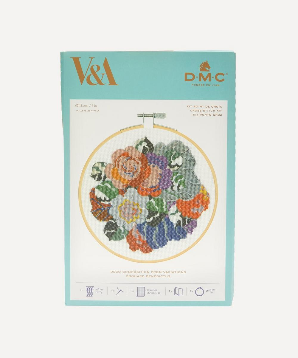 DMC - Deco Flowers Embroidery Kit With Hoop
