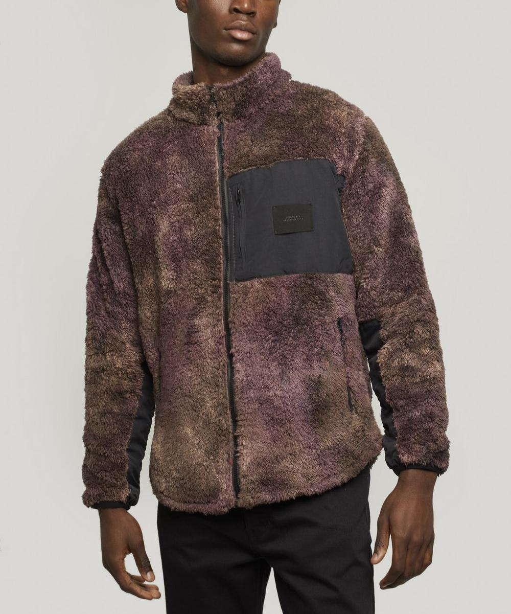 Saturdays NYC - Stenstrom Tie-Dye Fleece Jacket