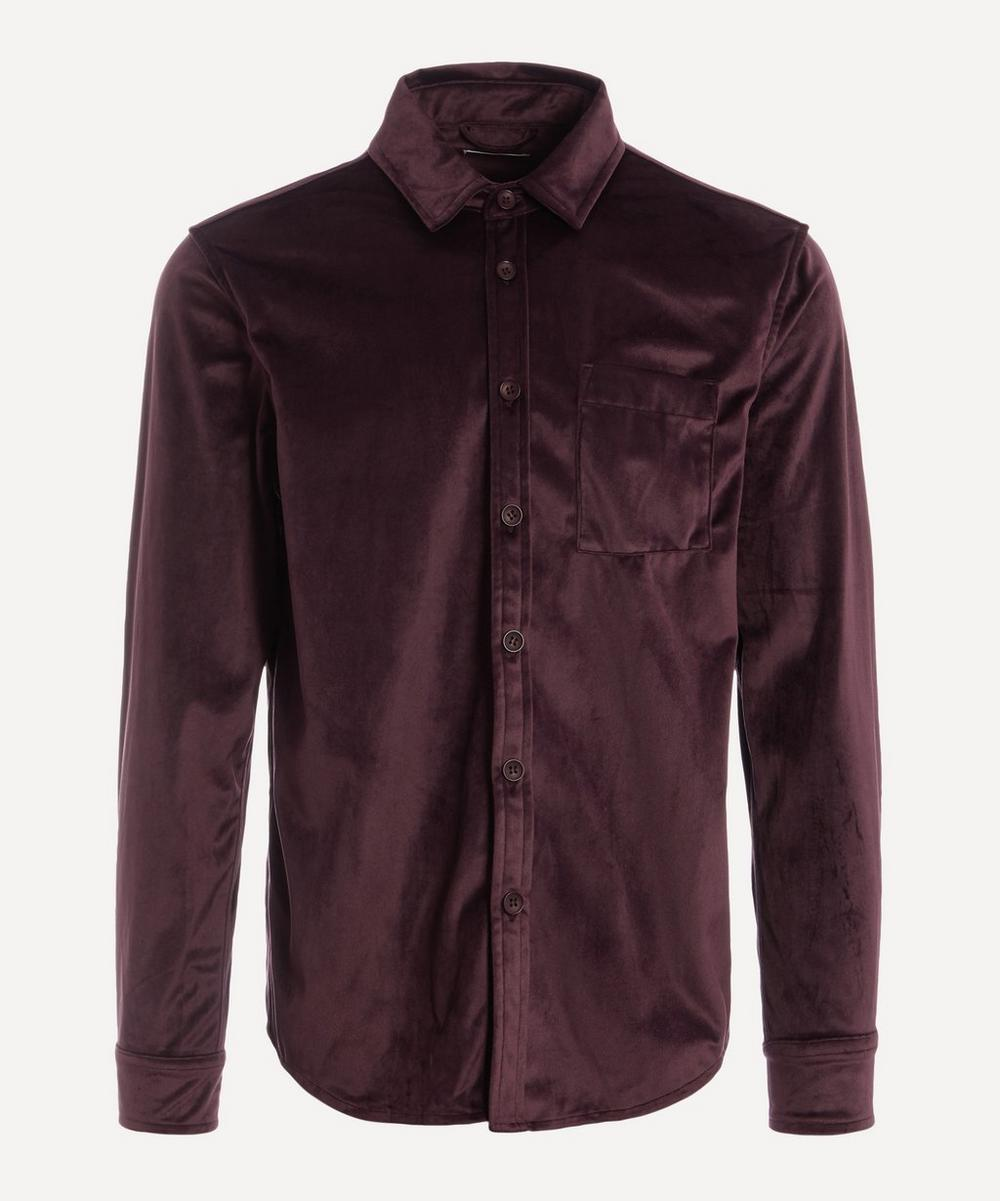 Saturdays NYC - Perry Velvet Shirt
