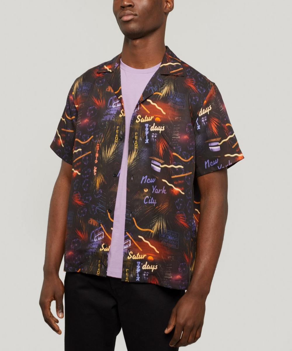 Saturdays NYC - Canty Midnight Paradise Shirt