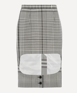 Runway Gingham Skirt