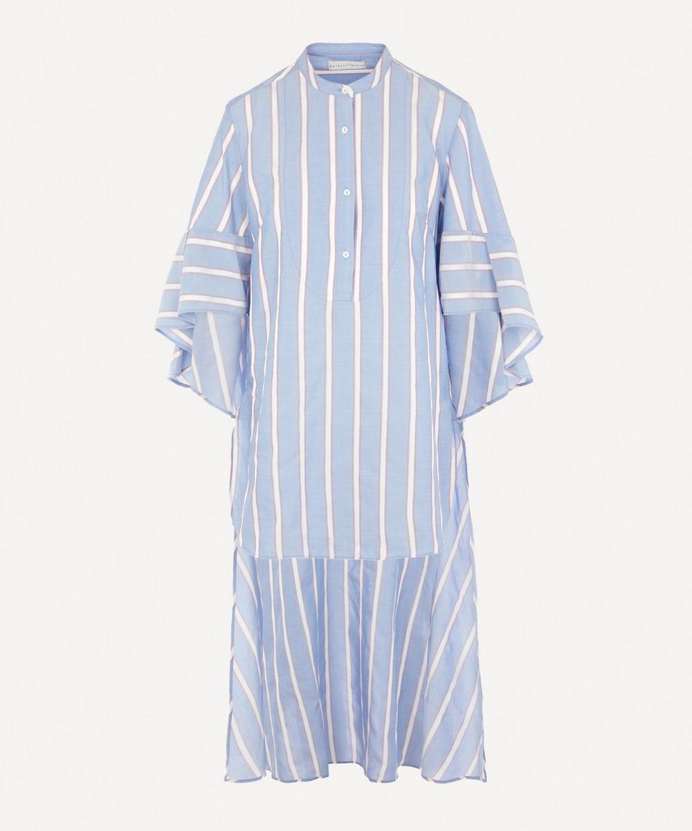 palmer//harding - Charlie Stripe Flare Shirt