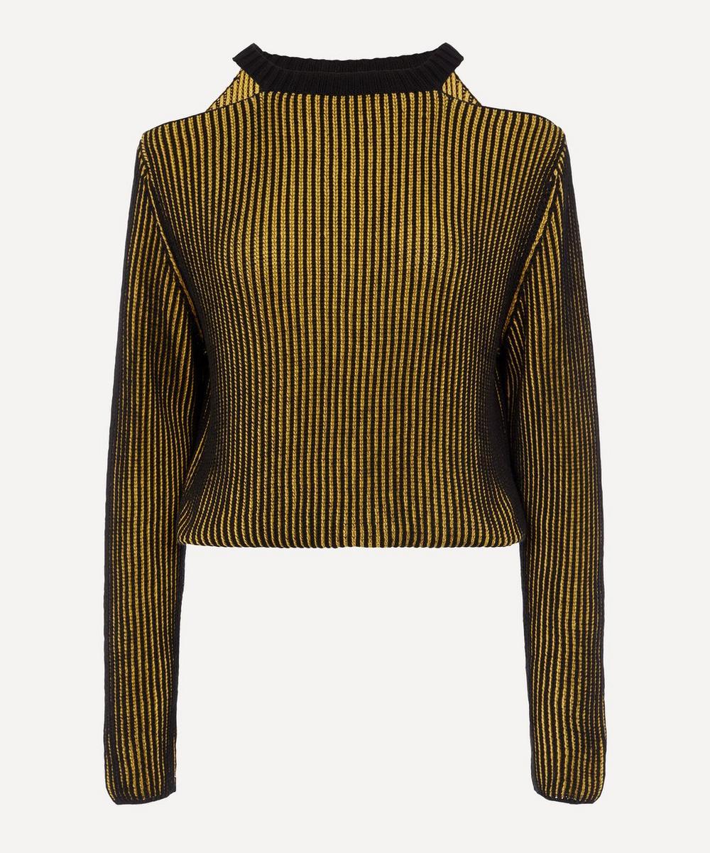 Eckhaus Latta - Lichen Clavicle Sweater