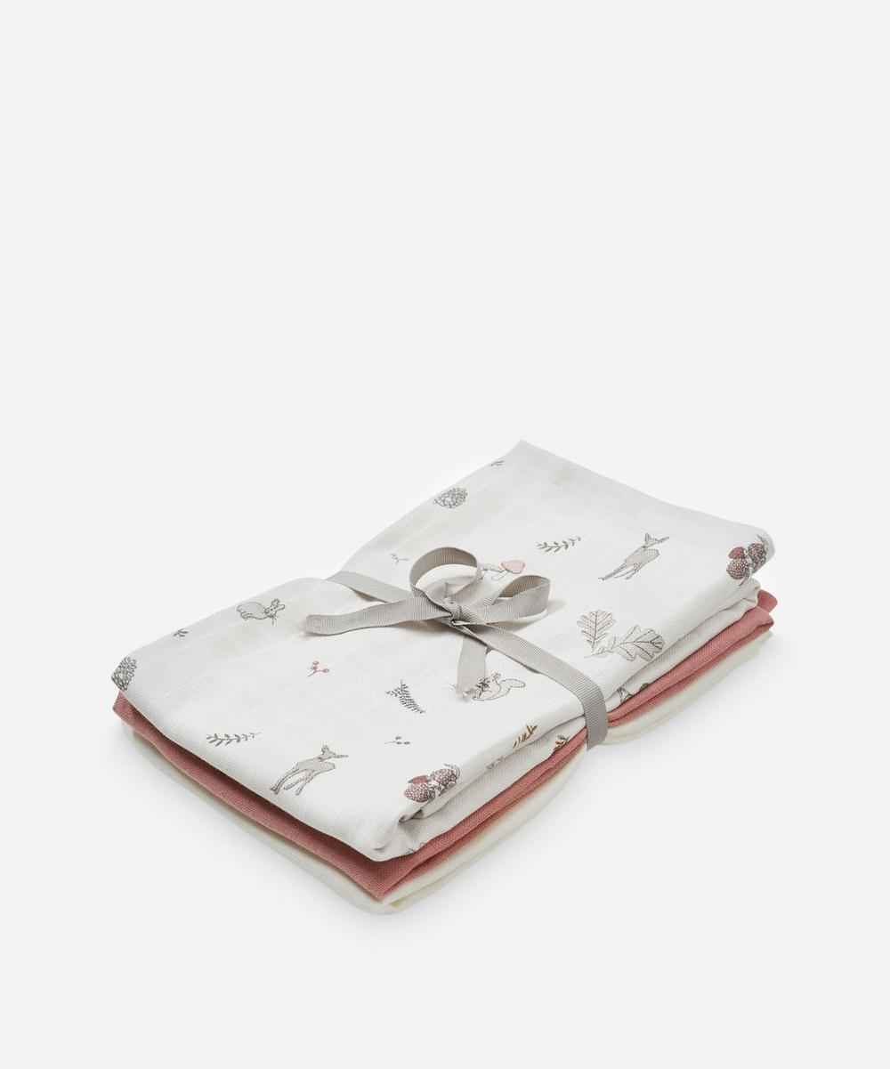 Cam Cam Copenhagen - Fawn Muslin Swaddling Cloth Pack of 3