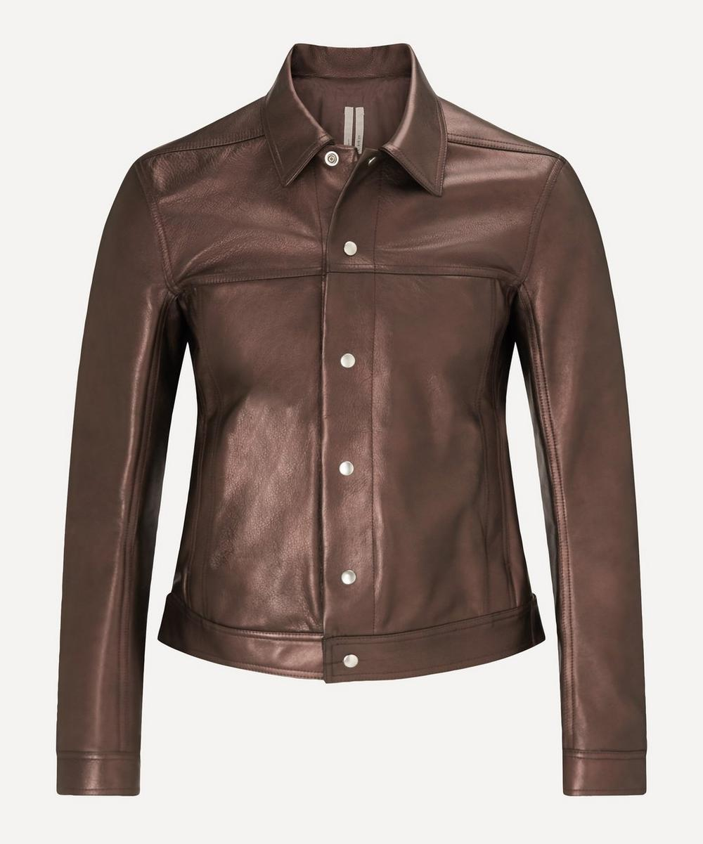 Rick Owens - Leather Worker Jacket