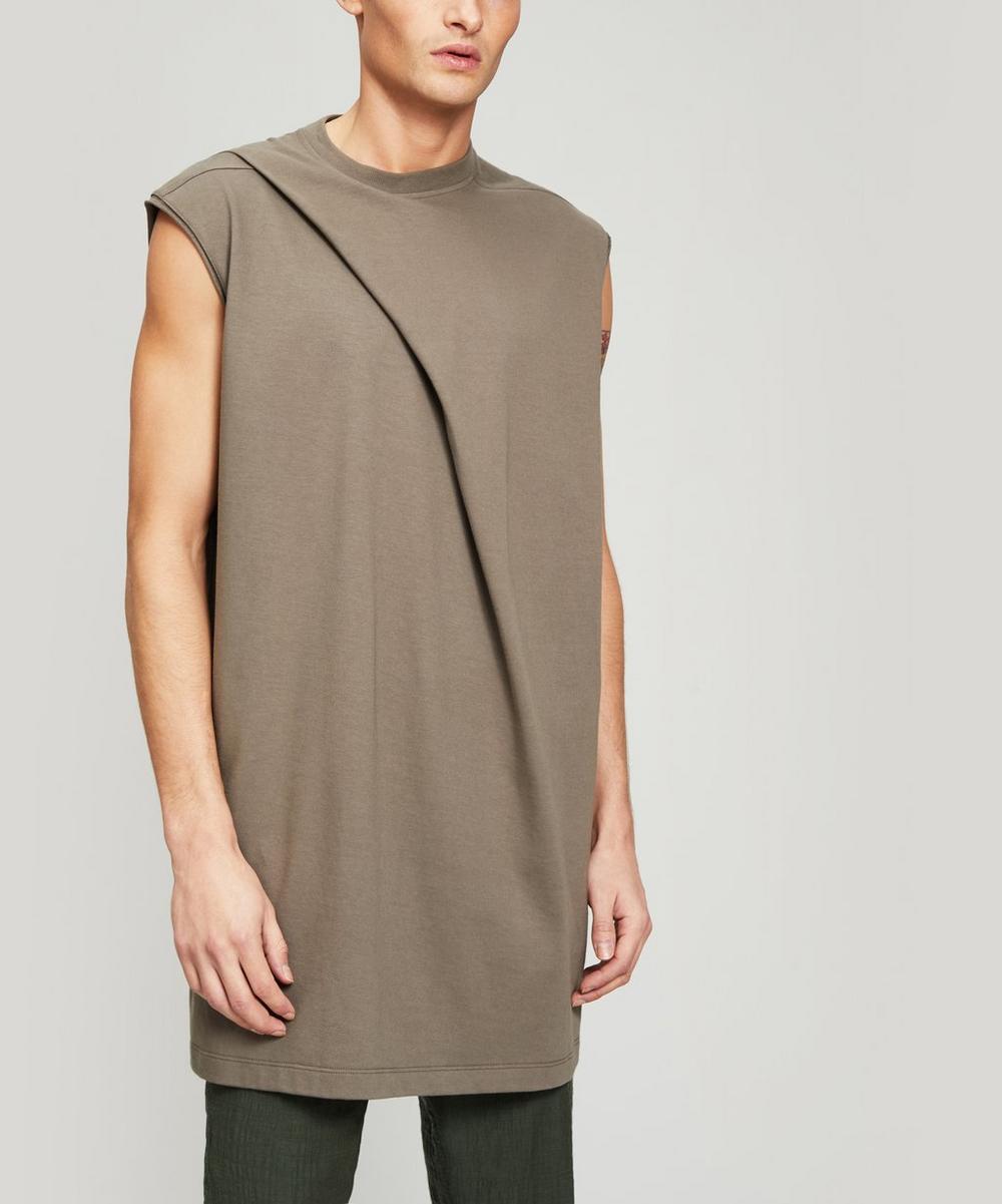 Rick Owens - Fold Detail Sleeveless Top
