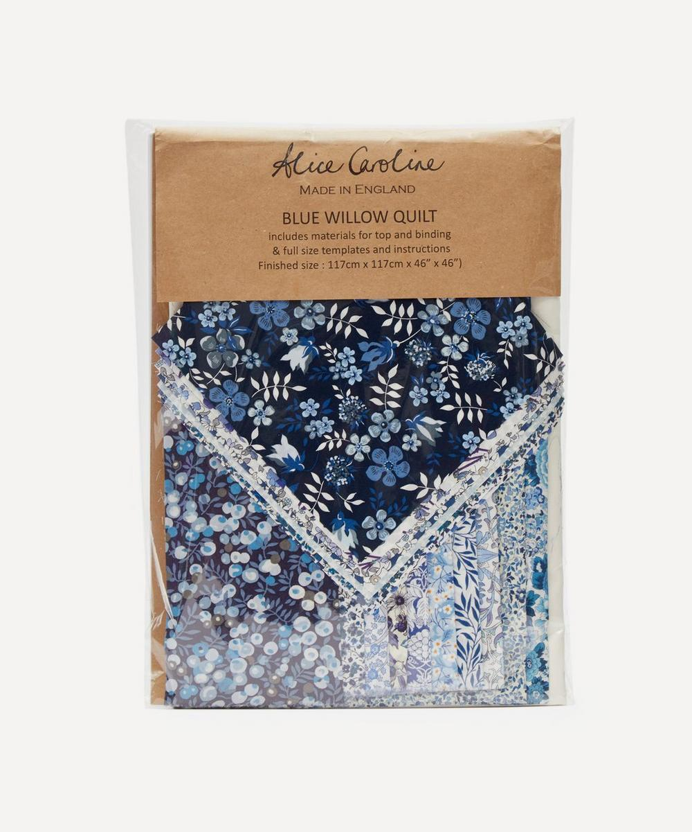 Alice Caroline - Blue Willow Quilting Kit