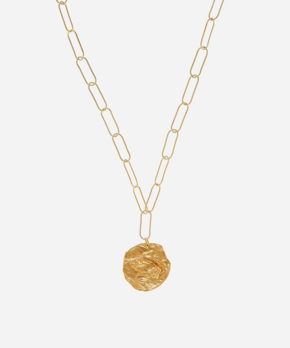 Alighieri - Gold-Plated The Hercules Pendant Necklace