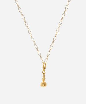 Gold-Plated The Pictor Pendant Necklace