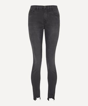 Le Skinny De Jeanne Chewed Hem Jeans