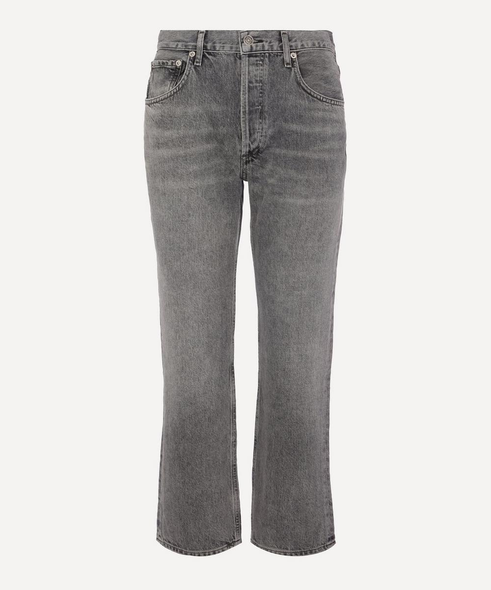 AGOLDE - Ripley Mid-Rise Straight Fit Jeans