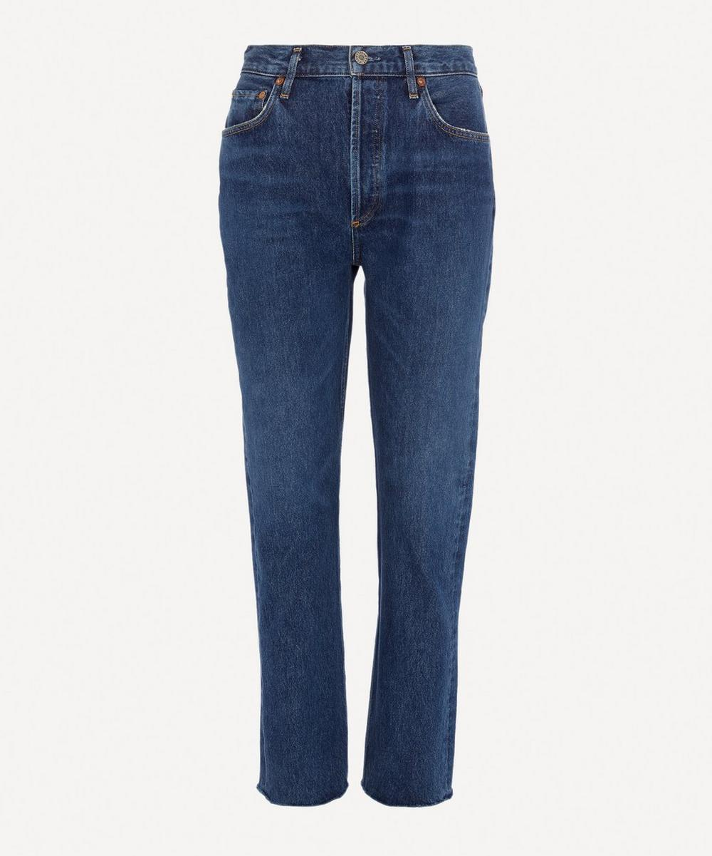 AGOLDE - Remy High-Rise Straight Fit Jeans