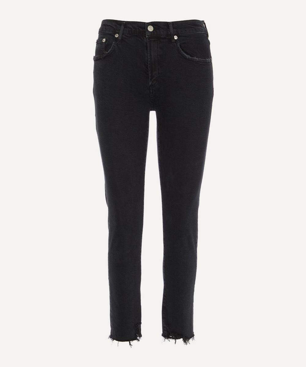 AGOLDE - Toni Mid-Rise Straight Jeans