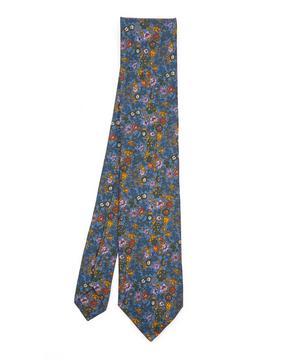 Ashbourne Printed Silk Tie