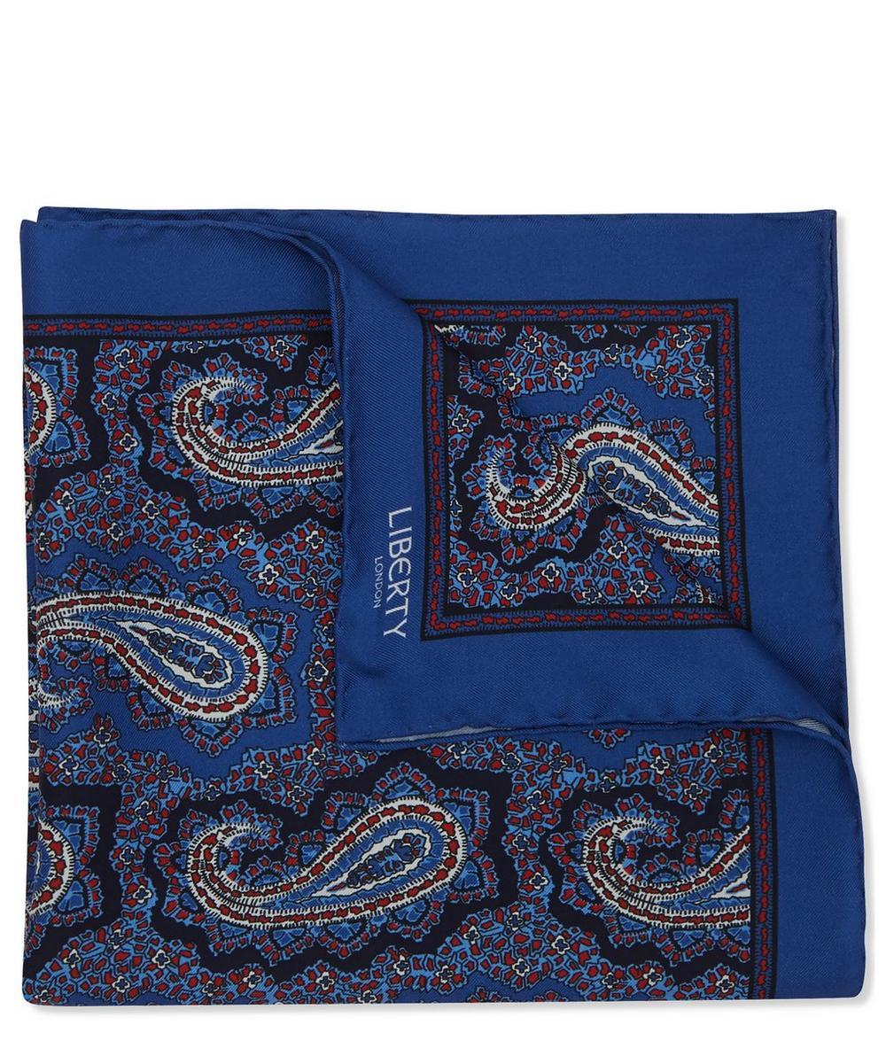 Liberty - Poynton Printed Silk Pocket Square