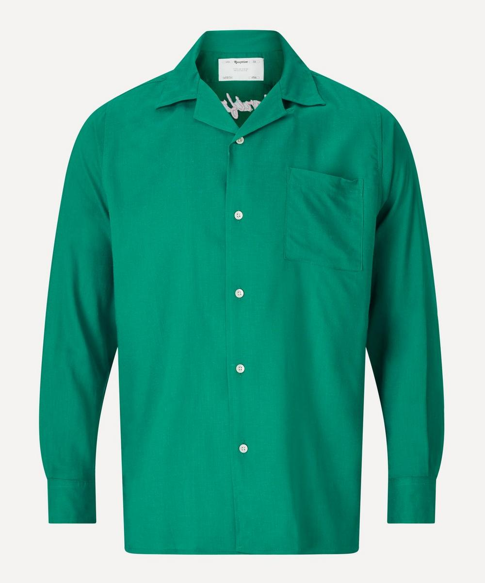 Reception - Glorifried Linen-Blend Bowling Shirt