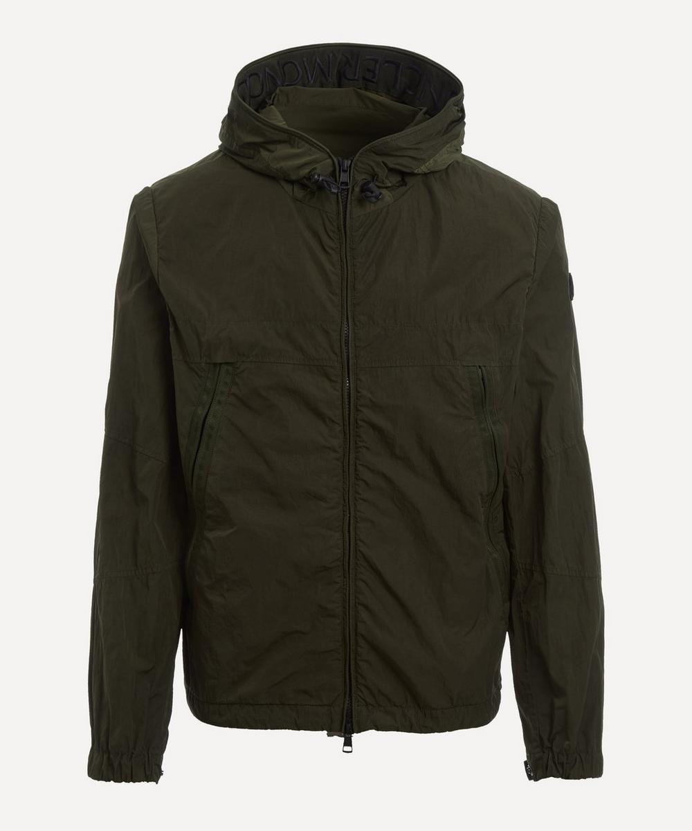Moncler - Scie Garment-Dyed Nylon Rain Jacket
