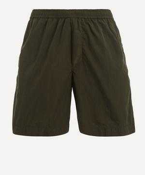 Taped Seam Logo Shorts