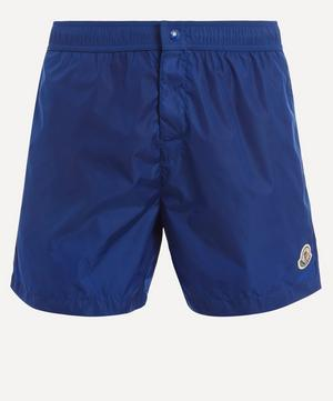 Tricolour Seam Swim Shorts