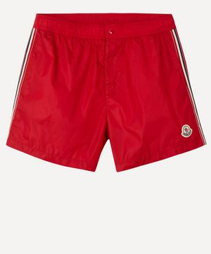 Tricolour Seam Swim Shorts