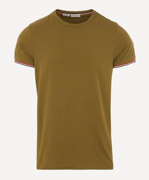 Tricolour-Tipped Stretch-Cotton T-Shirt