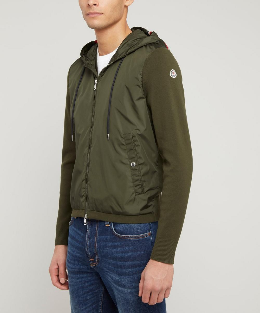 Moncler - Nylon Front Hooded Jacket