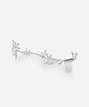 Cordellia Crystal and Faux Pearl Comb Headband